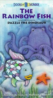 The Rainbow Fish and Dazzle the Dinosaur VHS Cover