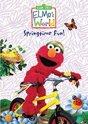 Elmo's World Springtime Fun VHS Cover