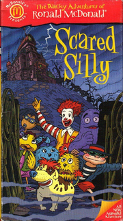 Scared Silly VHS Cover