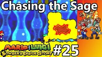 Mario & Luigi - Bowser's Inside Story - Episode 25 - Chasing the Sage