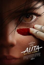 Alita Battle Angel final poster