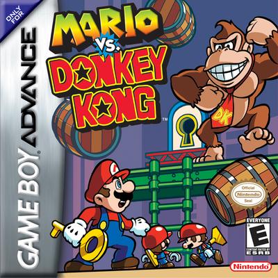 Mario vs donkey kong cover