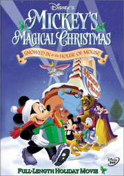 Mickey's Magical Christmas DVD Cover