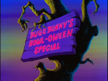 Bugs Bunny's Howl-oween Special Title Card