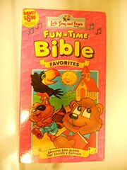 Let's Sing & Learn Funtime Bible Favorites VHS Cover