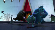 Monsters Inc HUMAN, SCREAM - SCREAM FEMALE, HORROR 01