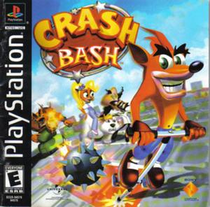 Crash Bash PS1 Box Art