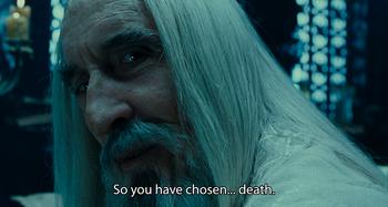 So you haven chosen death
