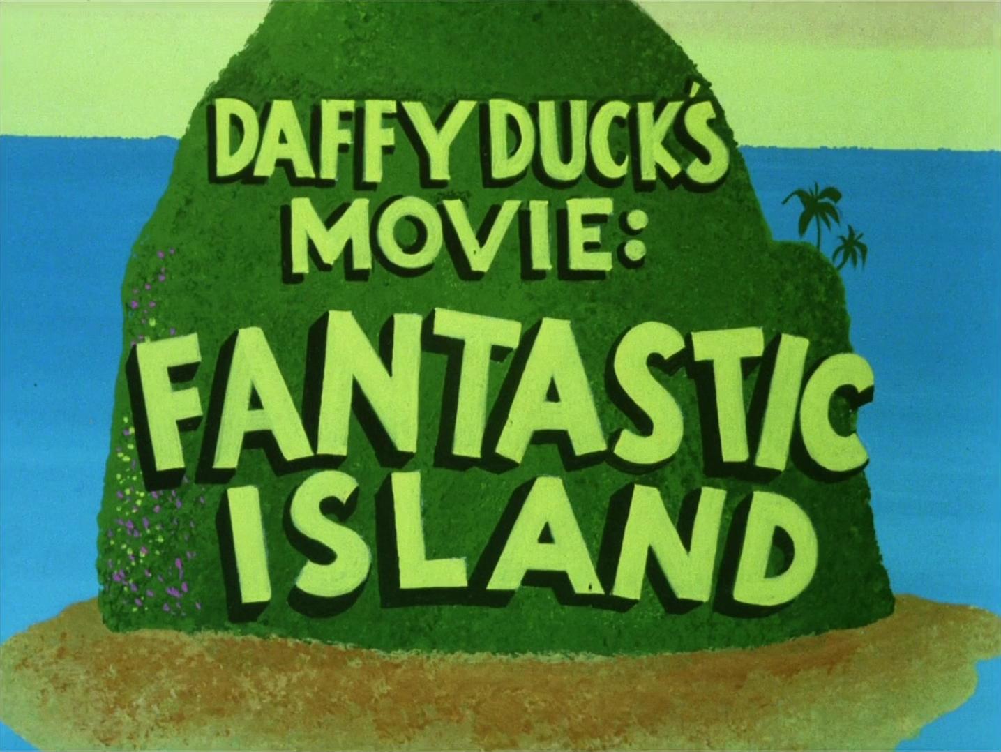 daffy ducks fantastic island