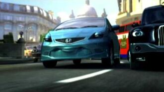 Honda Jazz TV Ad - London (Australia) 2008