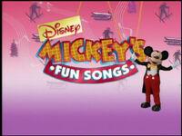 Mickey's Fun Songs