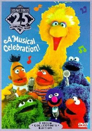 Sesame street 25 wonderful years dvd cover