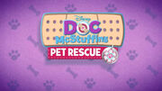 Doc McStuffins Pet Rescue Shorts Title