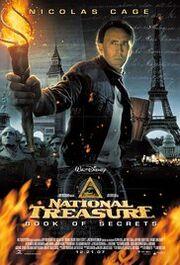 National Treasure Book of Secrets Poster