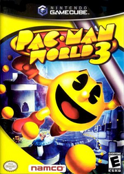 Pac-man world 3 box cover