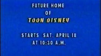 Launch of Toon Disney - April 18, 1998-1