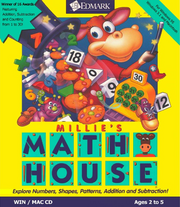 Millie's Math House Box Cover