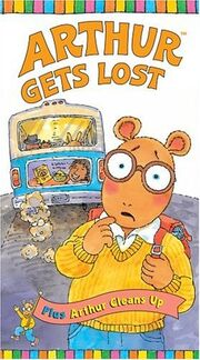 Arthur Gets Lost VHS Cover