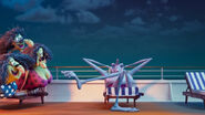 Hotel Transylvania 3 Summer Vacation Trailer TIP TOE, CARTOON - XYLOPHONE TIP TOE, LONG,