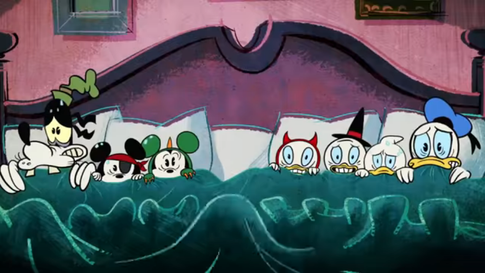 the scariest story ever a mickey mouse halloween spooktacular screenshot 7png