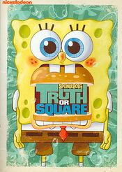 SpongeBob SquarePants Truth or Square DVD Cover