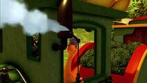 Dinosaur Train Sound Ideas, TRAIN, STEAM - WHISTLE, MANY BLASTS, CLOSE UP