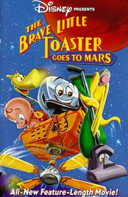 The brave little toaster goes to mars vhs cover