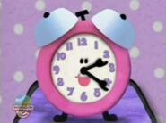 CLOCK, ALARM - LARGE ALARM CLOCK BELL RINGING Blue's Clues
