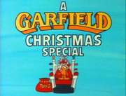 A garfield christmas title