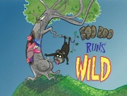 Boo Boo Runs Wild Title Card