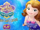 Sofia the First - The Floating Palace: Sofia's Card Catch (Online Games)