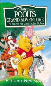 Pooh's Grand Adventure VHS Cover