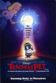 Teacher's pet movie poster