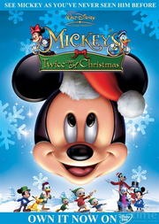 Mickey's twice upon a christmas cover