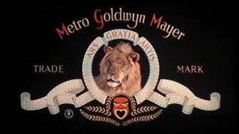 Metro Goldwyn Mayer (Tanner, roar)