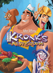 Kronk's New Groove DVD Cover