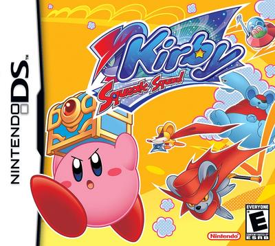 Kirby - Squeak Squad Box Art