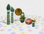 VeggieTales Hollywoodedge, Fast Juicy Pie Splat CRT019701