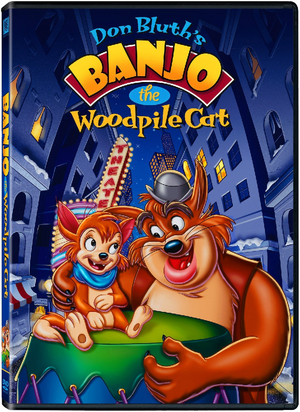 Banjo the Woodpile Cat DVD Cover