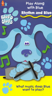 Blue's Clues Rhythm and Blue VHS Cover