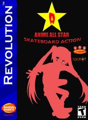 Anime All Star Skateboard Action Box Art 2