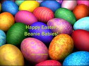 Happy Easter, Beanie Babies! 2018 Title Card
