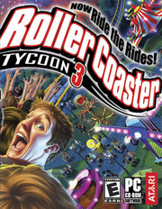 RollerCoaster Tycoon 3 cover