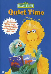 Sesame Street Quiet Time Cover