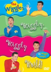The Wiggles It's a Wiggly Wiggly World! DVD Cover