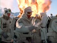 Empire Strikes Back SKYWALKER, BULLET - HOTH BLASTER RICOCHET + SKYWALKER EXPLOSION 05 (low pitch)