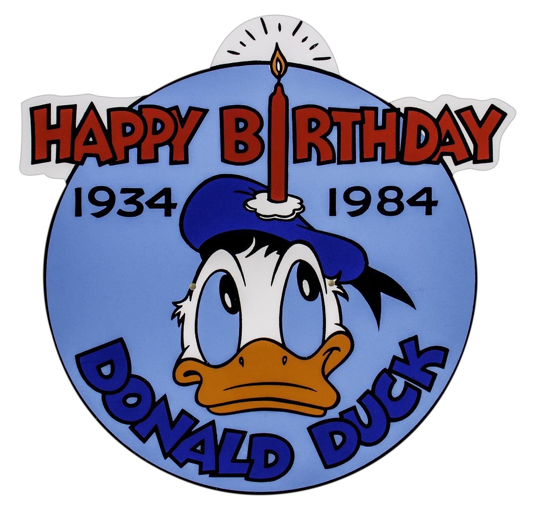 Happy Birthday Donald Duck (1984)
