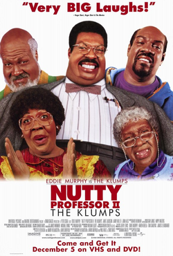 The nutty professor II 2000 poster