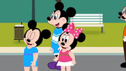 Mickey Mouse and Minnie Mouse Funny Story Series Hollywoodedge, Two Young Kids Giggle PE143501