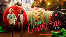Tiny-Christmas-Poster-Emma-And-Barkley-Cousins-Lizzy-Greene-And-Riele-Downs-Nickelodeon-Original-Holiday-Movie-Nick-Film-Logo